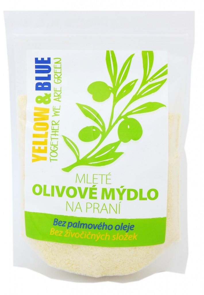 Mleté olivové mýdlo na praní (sáček 200g)