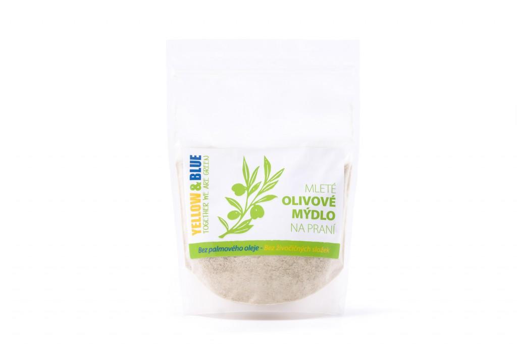 Mleté olivové mýdlo na praní (sáček 500g)