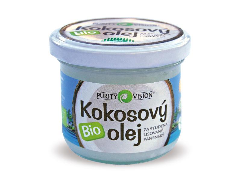 PURITY VISION kokosový olej panenský BIO, 100ml