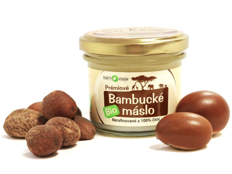 PURITY VISION Bambucké máslo BIO, 100ml