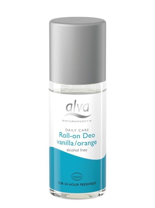 Fotografie ALVA krystal Deo kulička vanilka – pomeranč, 50ml
