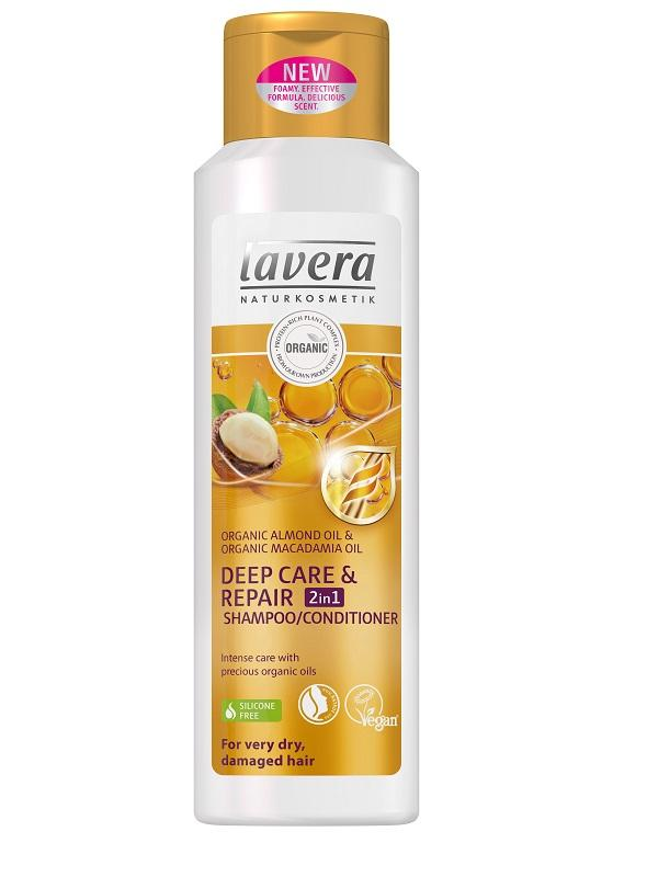 LAVERA Šampon a kondicionér 2v1 Deep Care& Repair, 250ml