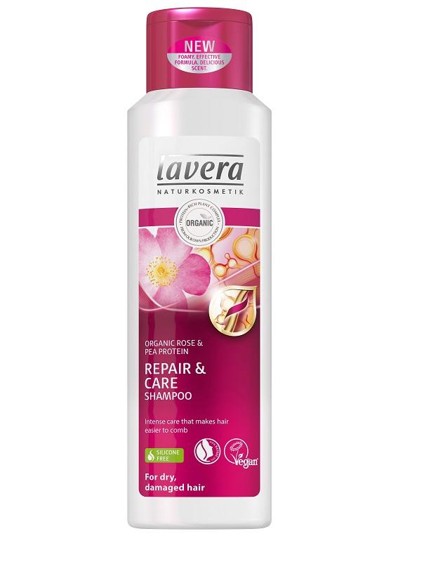 LAVERA Šampon Repair & Care, 250 ml