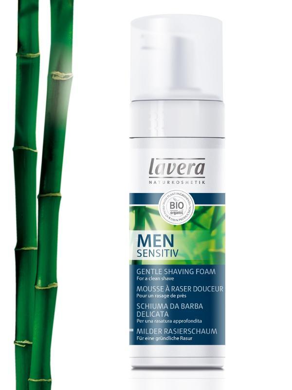 Fotografie LAVERA Jemná pěna na holení, 150ml