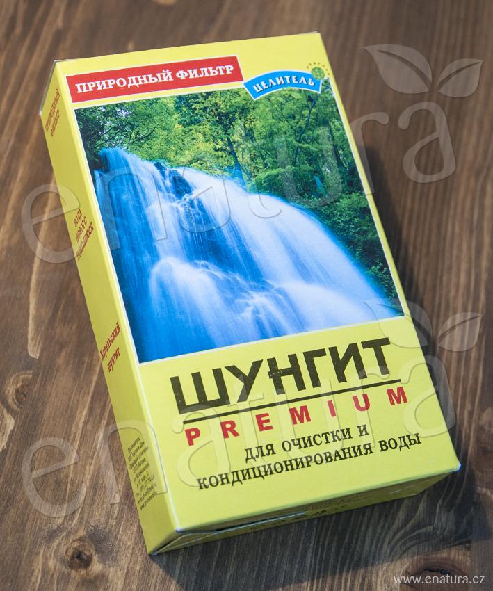 Šungit – drť / 5 - 10 mm na úpravu vody