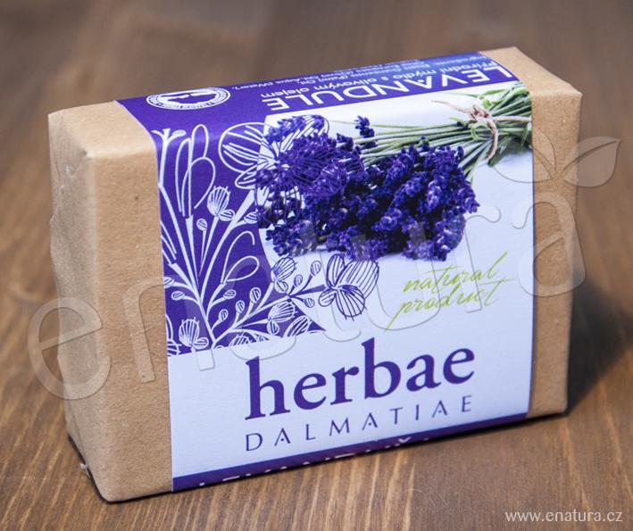 Herbae Dalmatiae: Levandulové mýdlo 100g