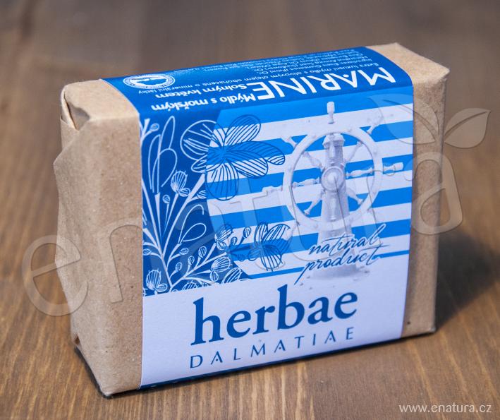 Herbae Dalmatiae: Marine - Mýdlo s mořským Solným květem 100g
