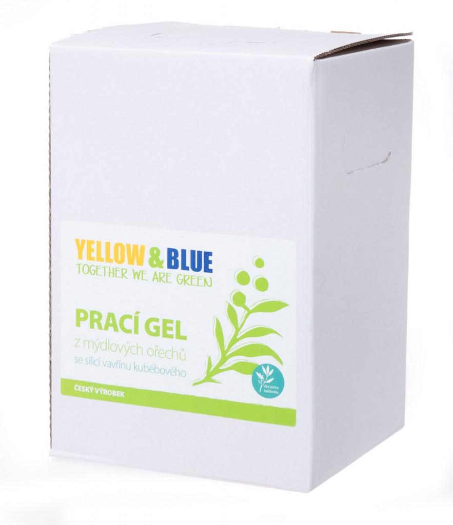 Prací gel z mýdlových ořechů se silicí vavřínu kubébového (bag-in-box 5l)