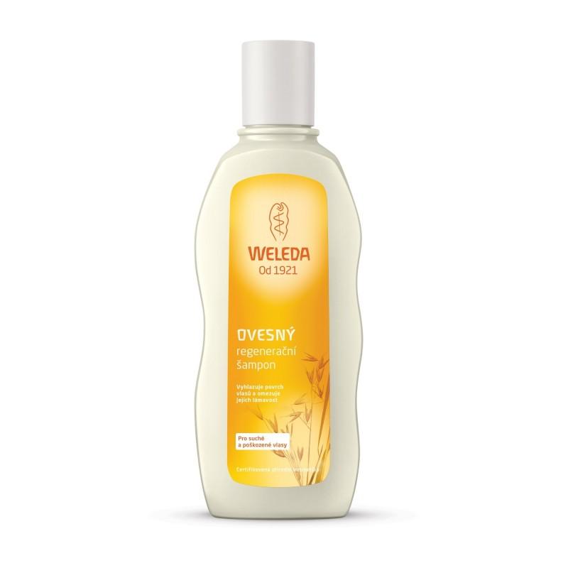 Ovesný regenerační šampon pro suché a poškozené vlasy, 190 ml
