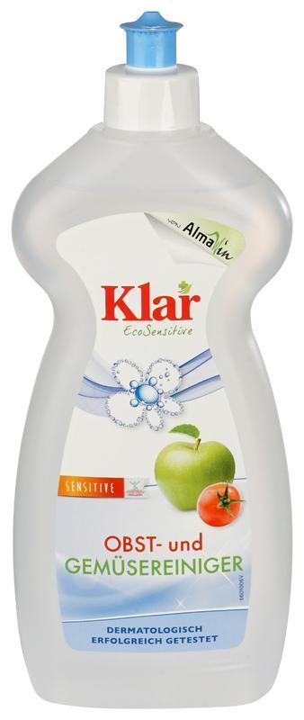 KLAR Mycí prostředek na ovoce a zeleninu, 500 ml