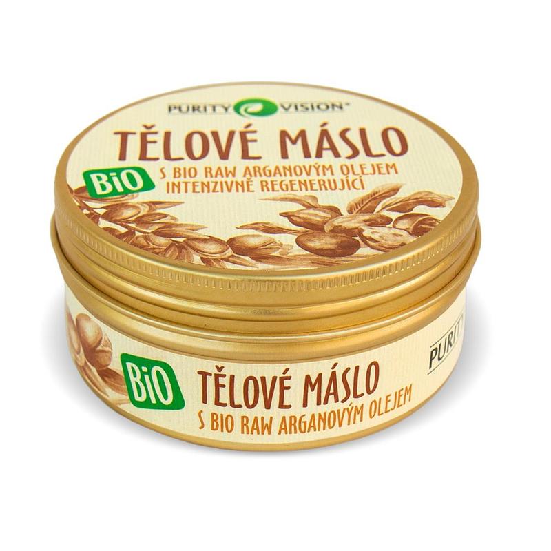 PURITY VISION Tělové máslo BIO, 150 ml