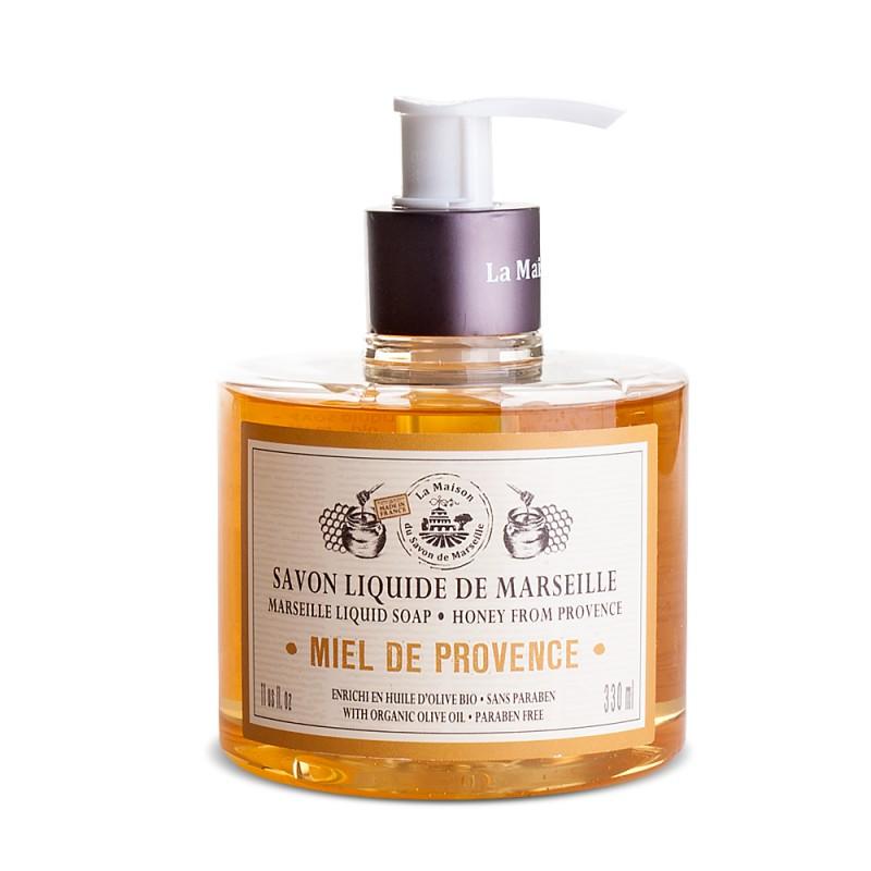 Tekuté mýdlo Marseille s dávkovačem – Miel/ Med 330ml