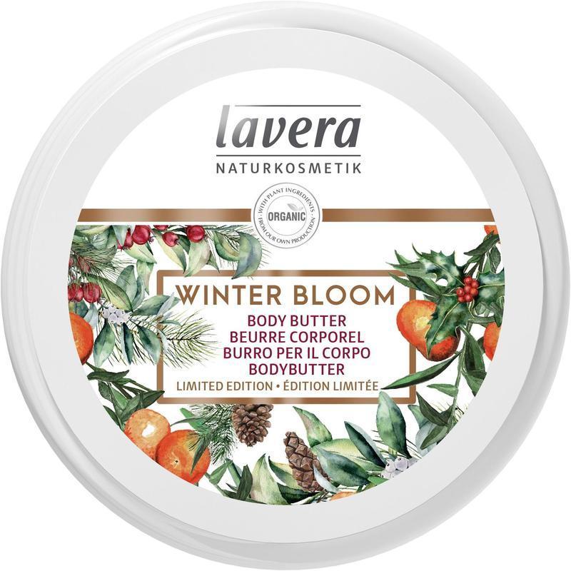LAVERA Tělové máslo ZIMNÍ KVĚT, Winter Bloom, 150ml
