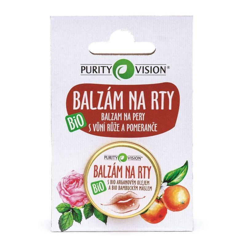 PURITY VISION Balzám na rty BIO, 12 ml