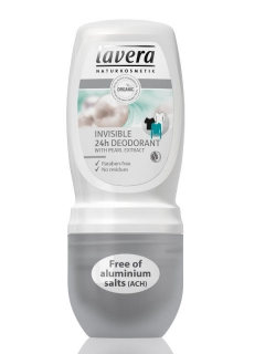 LAVERA Osvěžující deoroll-on Invisible, 50ml