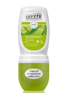 LAVERA jemný roll-on BIO Verbena -BIO Limetka, 50ml